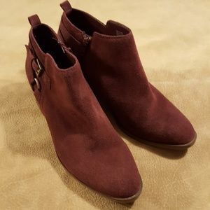Sonoma Suede Ankle Boots